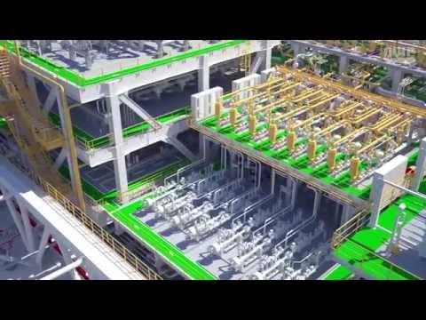 P63 FPSO - Process Plant (Eng Audio)