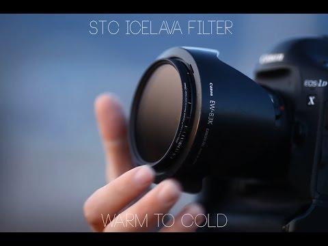 Color Balance filter - STC ICELAVA Warm-to-Cold Fader / ホワイトバランスを変える バリアブル フィルター で日中シンクロ ポートレート 使用
