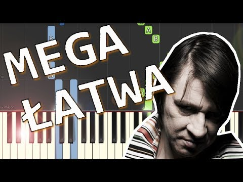 🎹 Ostatnia nocka (Maciej Maleńczuk) - Piano Tutorial (MEGA ŁATWA wersja) 🎹