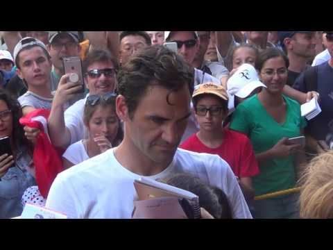Roger Federer  Coupe Rogers Montreal 2017