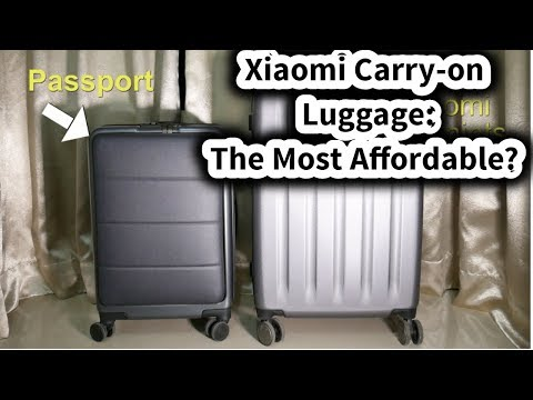 New Xiaomi 90FUN Suitcase: The Passport Review #SamiLuo