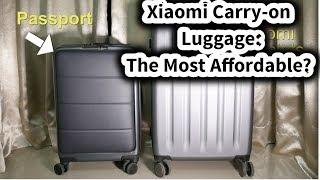 New Xiaomi 90FUN Suitcase: The Passport Review #SamiLuo
