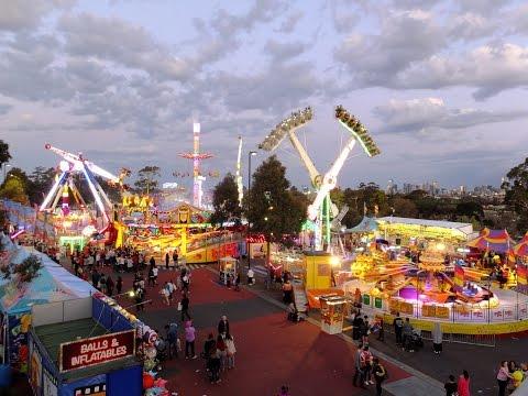 Royal Melbourne Show 2015 Rides