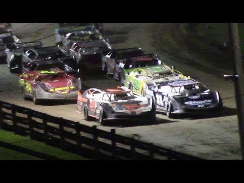 Crate Late Model Feature | Little Valley Speedway | Bill Law Memorial | 7-3-17