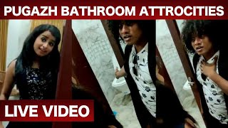 Pugazh and shivangi Ultimate Funny video | Bathroom Atrocities  | Cooku with comali