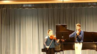 "Sydeman  ""Duo for Two Violas"" Performed by Jordan & David"