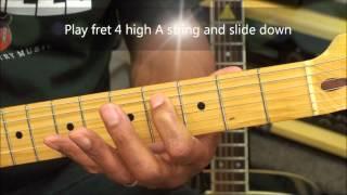 MAPS Maroon 5 How To Play On Guitar Lesson EricBlackmonMusicHD