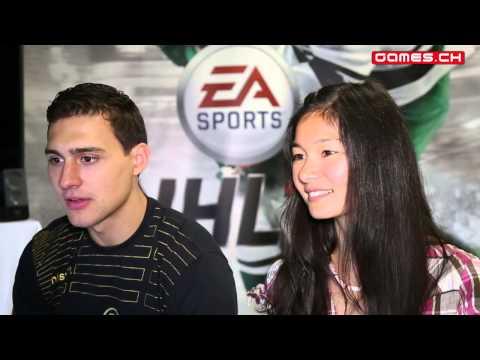 NHL 15 - Interview mit Nino Niederreiter (CH-DE, Zuchwil)
