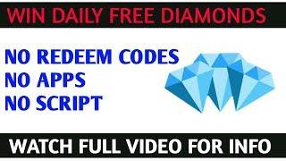Win daily free diamonds no script ,no hacks , no apps #skylergaming