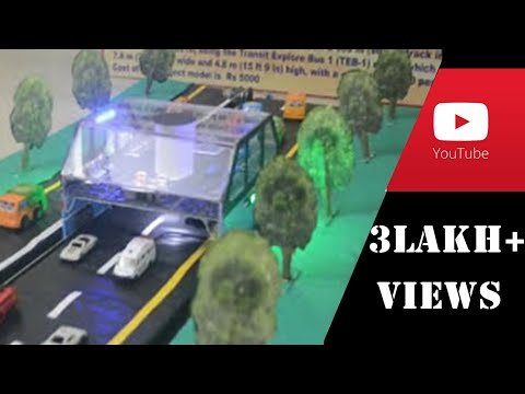 Best modern science model_Transit Elevated Bus_In easy steps