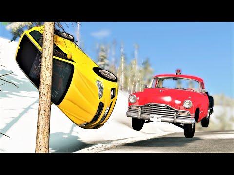 Will These Cars Still Drive After Crashing? #84 - BeamNG Drive   CRASHdriven