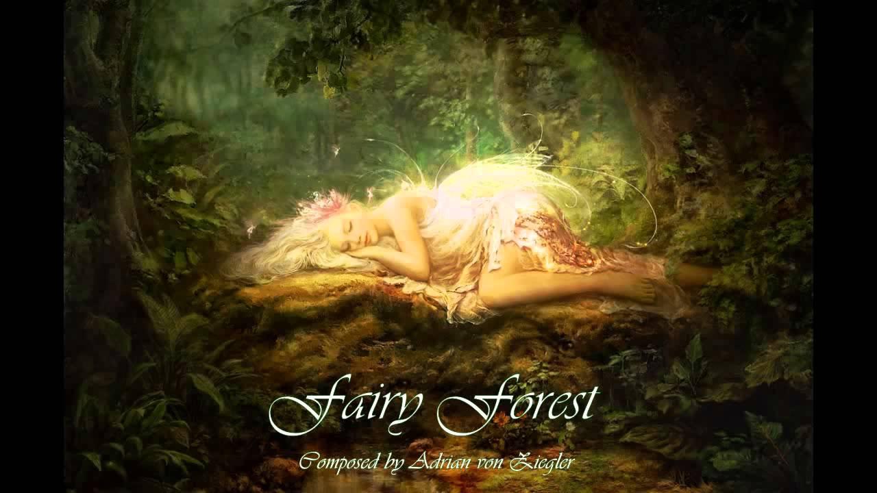 celtic music fairy forest youtube