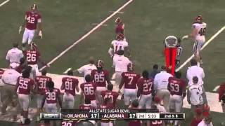 2014 Oklahoma vs Alabama Sugar Bowl Highlights
