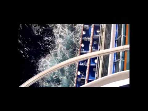Ruby Princess in Pacific October 2015