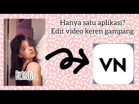 TUTORIAL CARA MEMBUAT VIDEO YANG VIRAL TIKTOK AESTHETIC BLINK |vn