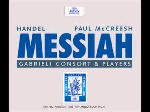 HANDEL   MESSIAH   GABRIELI CONSORT   MCCREESH