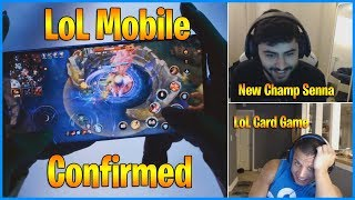 League of Legends Mobile Confirmed | New Champion Senna | LoL Card Game..