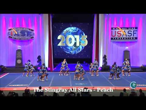 The Stingray All Stars Peach 2015 Senior Medium Finals