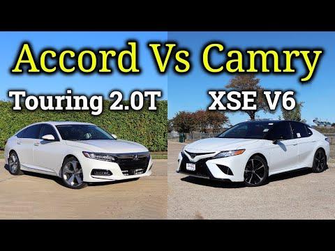 HONDA or TOYOTA?: 2020 Toyota Camry XSE V6 vs 2020 Honda Accord Touring 2.0T   Fully Loaded!