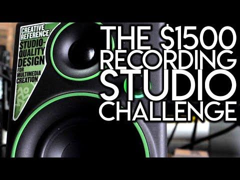 The $1500 Recording Studio Challenge | SpectreSoundStudios TUTORIAL