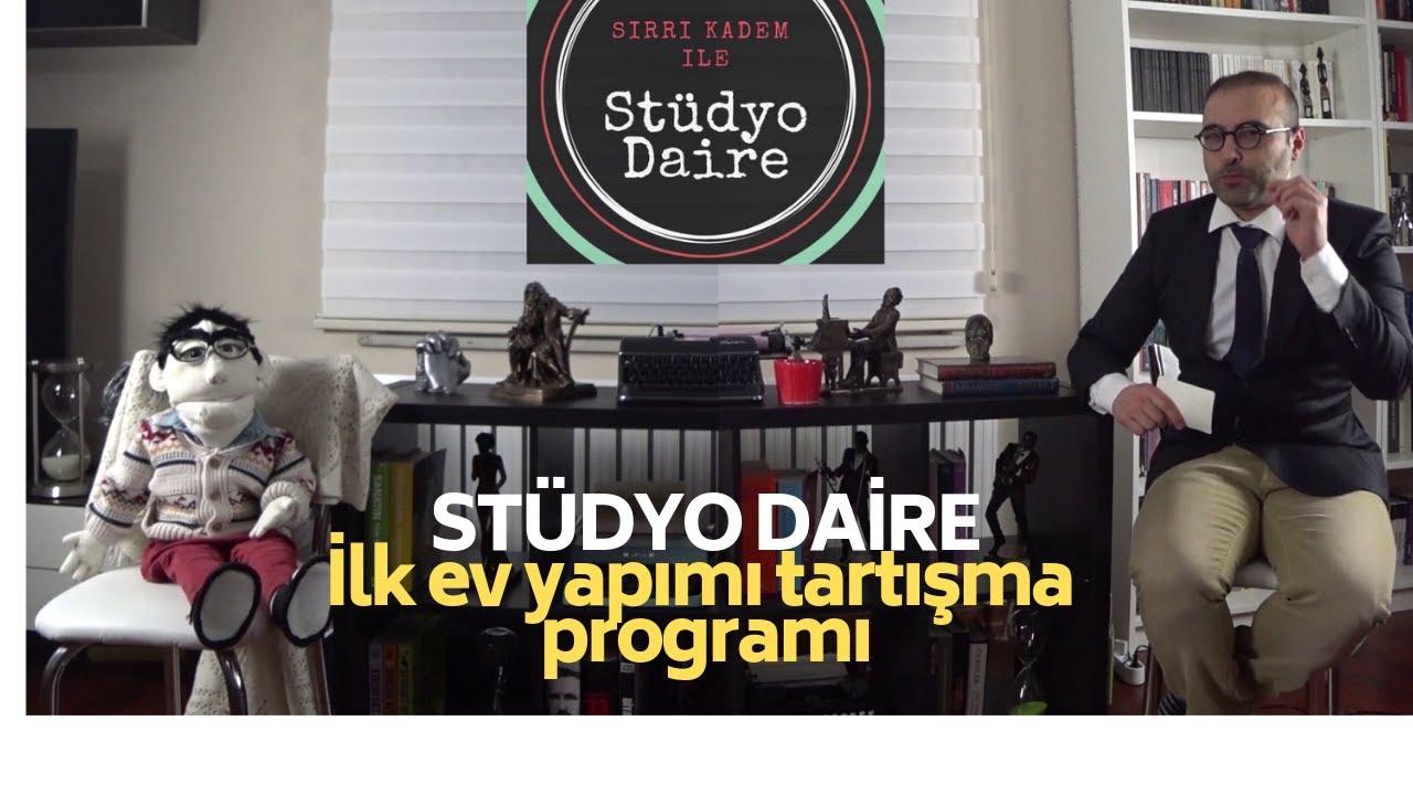 Türkiyenin ilk ev yapımı tartışma programı STÜDYO DAİRE