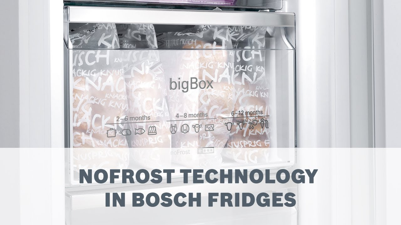 No Frost No Frost Feature Prevents Unwanted Ice Formation Bosch Fridge