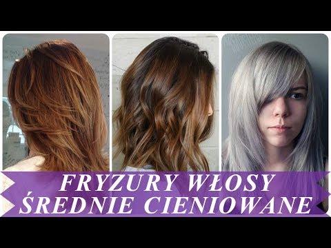 Najnowsze Fryzury Włosy średnie Cieniowane 2018 Youtube