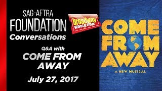 Conversations with COME FROM AWAY