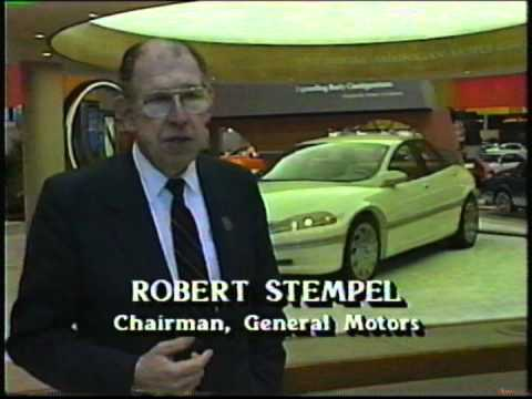 General Motors Display At The 1992 Chicago Auto Show Youtube