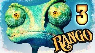 Rango Walkthrough Part 3 -- 100% Items (PS3, X360, Wii) Level 2 - Water Train