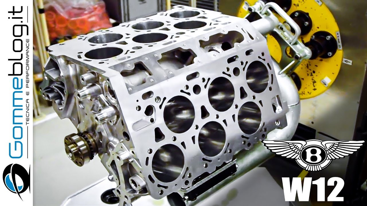 Bentley W12 Engine Assembly Looks Like Ballet Of Man And MachineMotor1.com