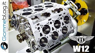 Bentley W12 Engine - PRODUCT ON ASSEMBLY