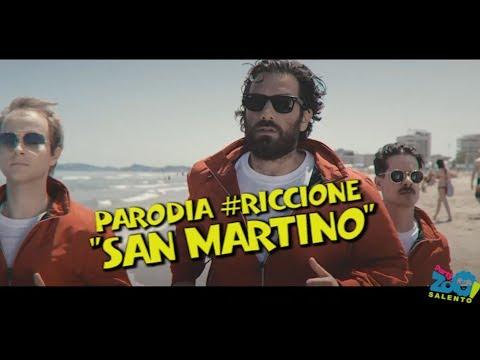 """""""SAN MARTINO""""- PARODIA """"RICCIONE""""- THE GIORNALISTI- PARTY ZOO SALENTO"""