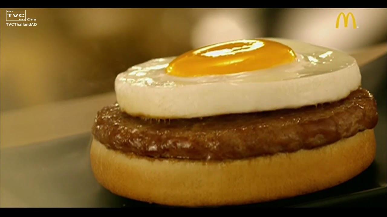 泰國麥當勞玉子將軍漢堡廣告 中字 - YouTube