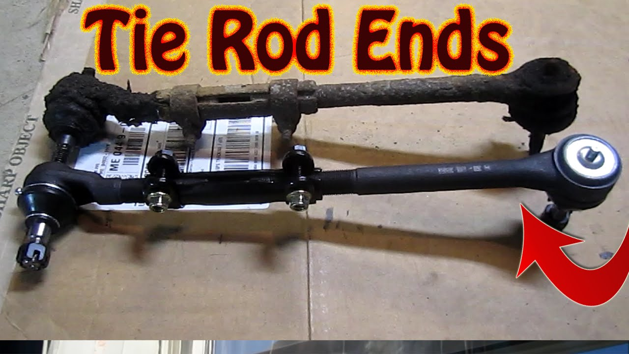 small resolution of diy how to replace inner and outer tie rod ends front end replacement part 2 youtube