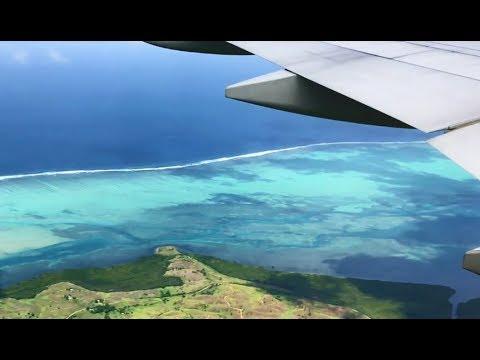 Takeoff Auckland | Landing Nadi, Fiji | B777-300 Air New Zealand