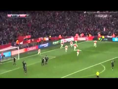 Welbeck Goal Vs Leicester Sky Sports Commentary Youtube
