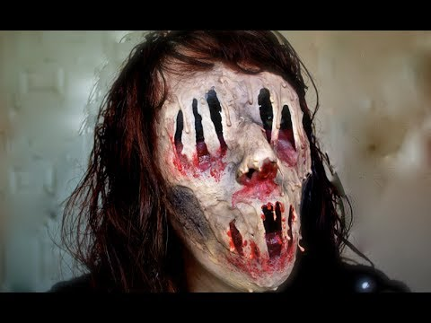 Melted Mutant; Halloween tutorial. (WARNING: SCARY!!!) - YouTube