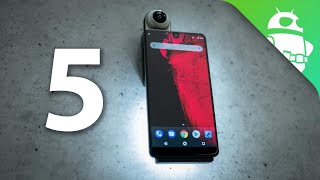 Top 5 Features of the Essential Phone