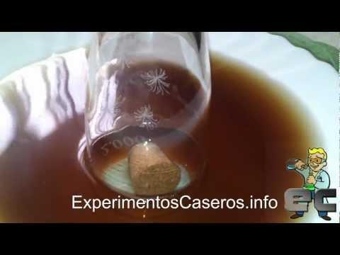 El corcho sumergible (Experimentos Caseros)