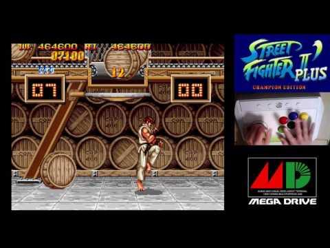 [3/4] STREET FIGHTER II DASH PLUS - CHAMPION EDITION(Genesis)