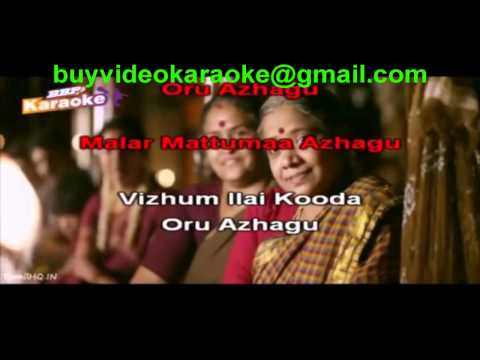Azhagu Azhagu Tamil Video Karaoke