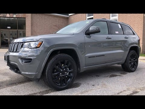 2020 Sting Grey Jeep Grand Cherokee Altitude 4x4 Youtube