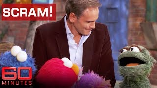 Oscar the grouch takes on TV reporter | 60 Minutes Australia