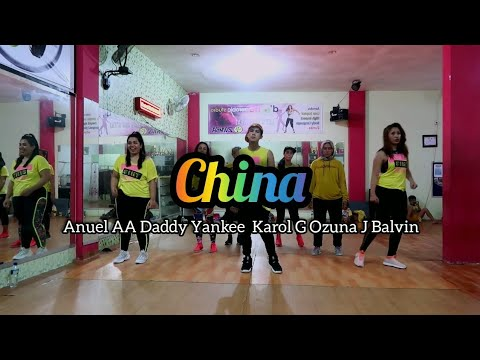 Anuel AA Daddy Yankee Karol G Ozuna J Balvin - China  ZUMBA  FITNESS  At D&39;One Studio Balikpapan