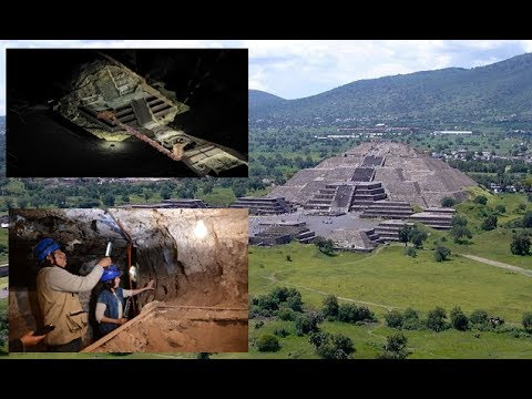 Brand-new passageway found 30 feet below the Pyramid of the Moon