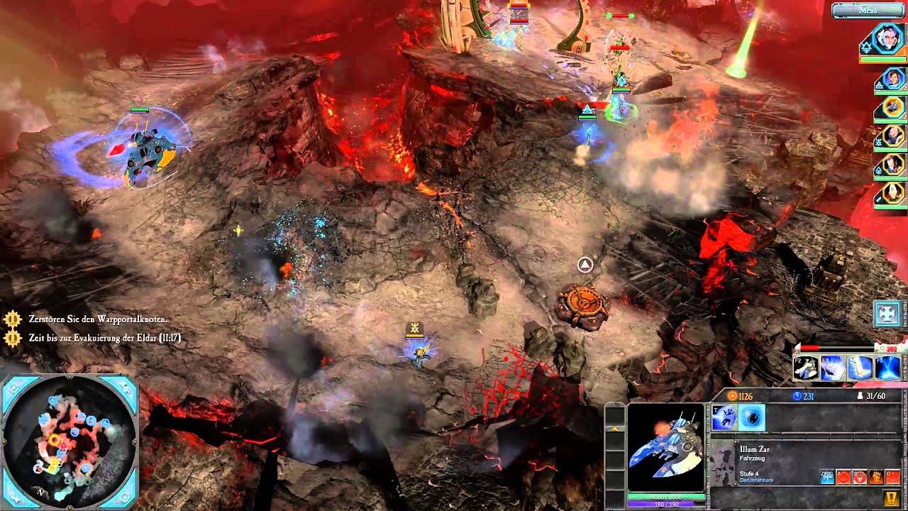 Lets Co Op Dawn Of War 2 Retribution 12 Der Avatar Des Khaine