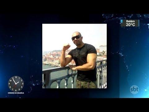 Português baleado na cabeça durante assalto morre no RS | SBT Notícias (12/10/17)