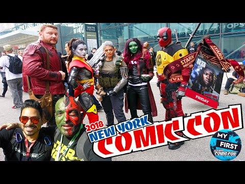 MY FIRST COMIC CON - NEW YORK COMIC CON 2018