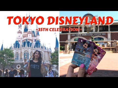 Tokyo Disneyland 35th Anniversary Celebration | Electrical Parade, Cute Foods, & Shopping